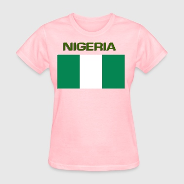 Nigerian Flag - Women's T-Shirt