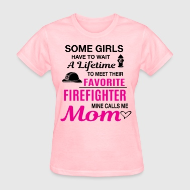 Firefighter Mom - Women's T-Shirt