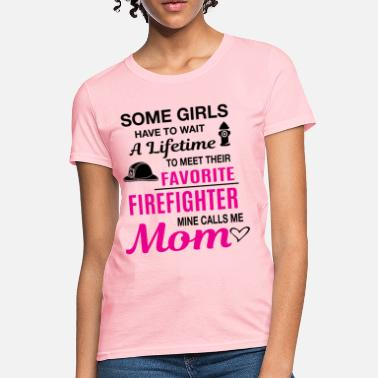 Firefighters Mom Firefighter Mom - Women's T-Shirt