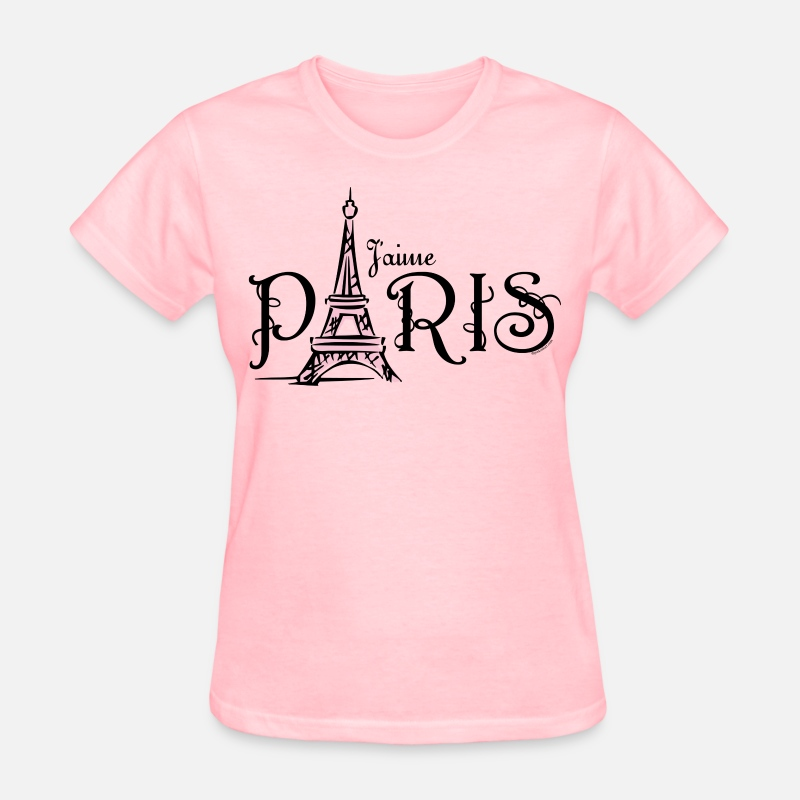 Paris T-Shirts - J'aime Paris - Women's T-Shirt pink