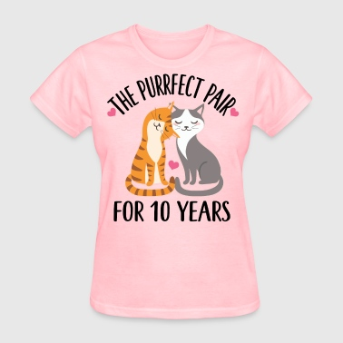 10th Anniversary Gift 10 Year Quote - Women's T-Shirt