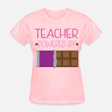 Cute Pink Teacher Teacher Funny Cute Gift - Women's T-Shirt