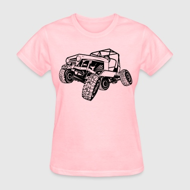 Monster Cool Jeep - Women's T-Shirt