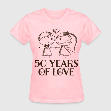 50th Anniversary Married Couples - Women's T-Shirt