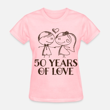 50th Anniversary Gift 50th Anniversary Married Couples - Women's T-Shirt