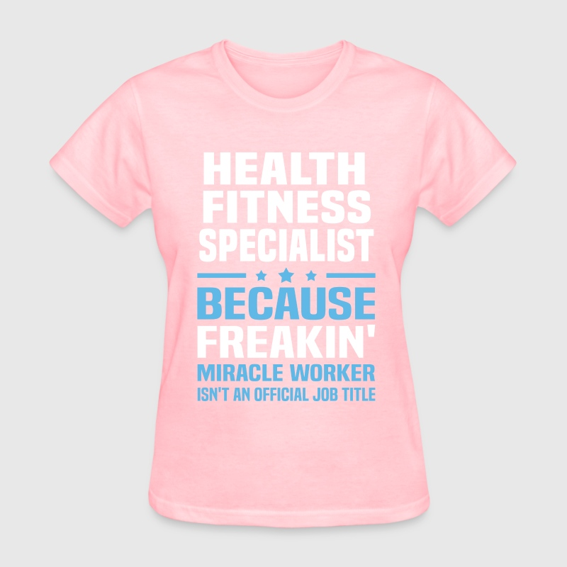 Health Fitness Specialist T-Shirt | Spreadshirt