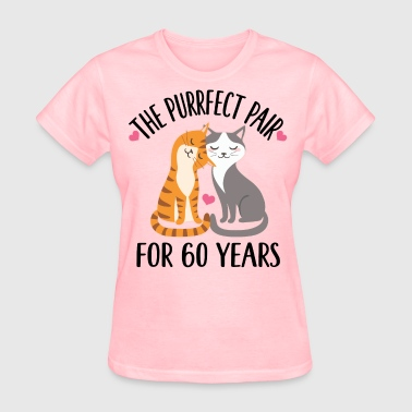 60th Anniversary Gift 60 Years - Women's T-Shirt