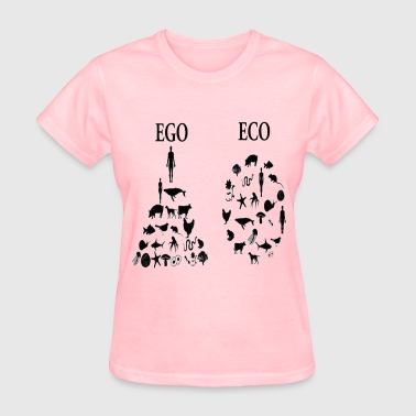 animal rights ego vs eco - Women's T-Shirt