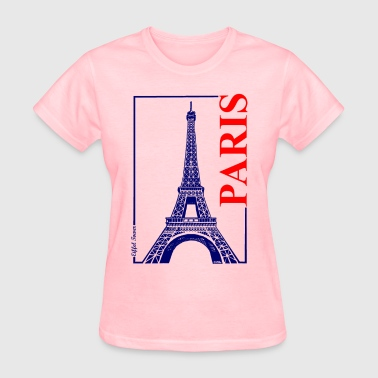 Paris-Eiffel Tower - Women's T-Shirt