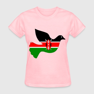 Kenya peace dove - Women's T-Shirt
