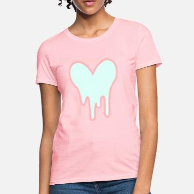 Melting Heart Heart Goo Tee Womens - Women's T-Shirt