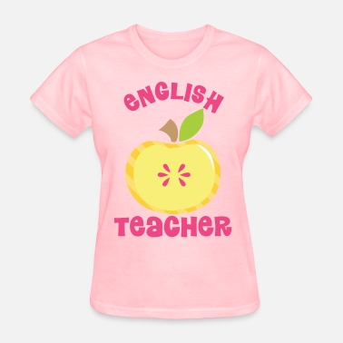 Cute Pink Teacher English Teacher Cute Pink - Women's T-Shirt