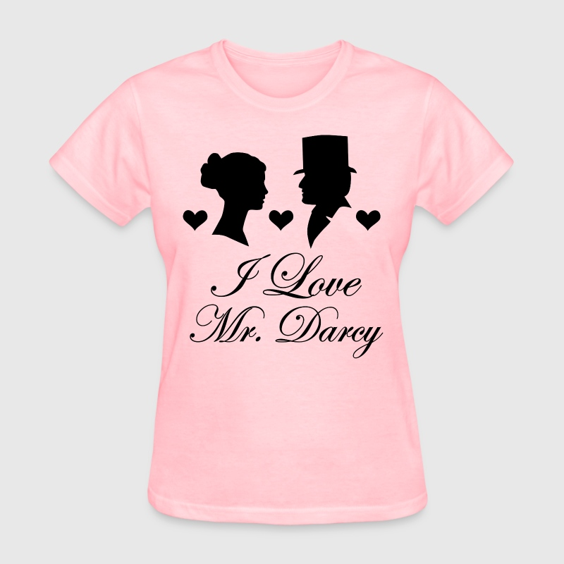 Jane Austen Love Mr Darcy - Women's T-Shirt