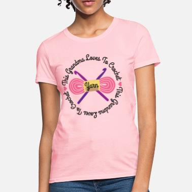 54d23a0d4 Unisex Baseball T-Shirt. Gift For Crochet Lover. T-Shirt Ideas. from $31.49  · Crochet Funny Crocheting Grandma Crochet Gift - Women's ...
