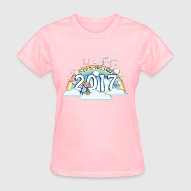 Born in the year 2017 cc - Women's T-Shirt