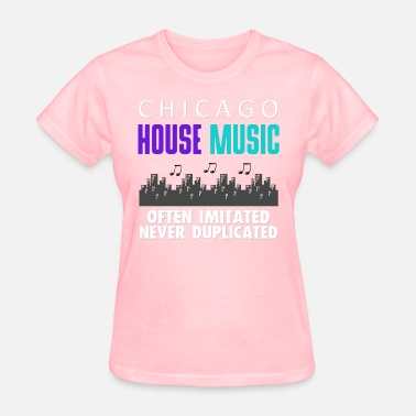 Chicago Music CHICAGO HOUSE MUSIC DESIGN - Women's T-Shirt