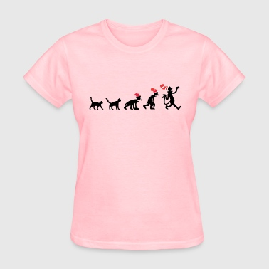 Cat Evolution Cat In The Hat Evolution - Women's T-Shirt