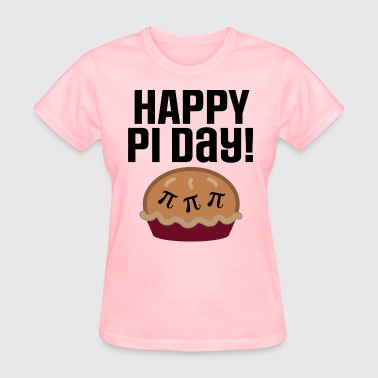 Happy Pi Day Math Pie - Women's T-Shirt