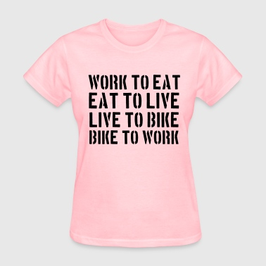 BIKE TO WORK - Women's T-Shirt