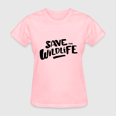 Save the Wildlife - Women's T-Shirt