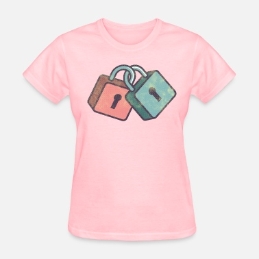 Lock Of Love love locks - Women's T-Shirt
