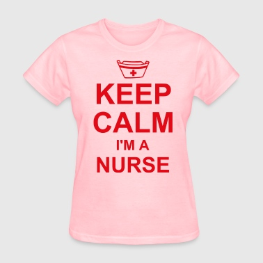 Keep Calm Nurse - Women's T-Shirt