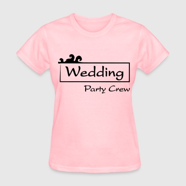 Wedding Party Crew - Women's T-Shirt