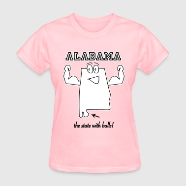 Balls State with balls Alabama t-shirts - Women's T-Shirt