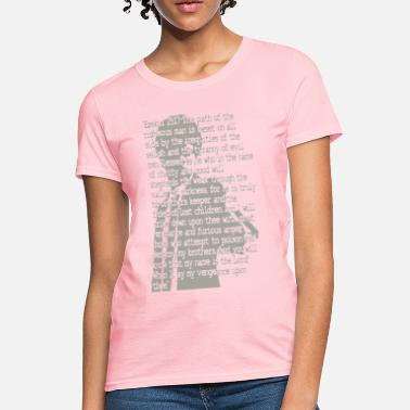 Pulp Fiction Quotes EZEKIEL 25 - Women's T-Shirt