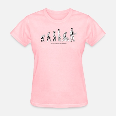 Coffee The Evolution Of Coffee - Women's T-Shirt