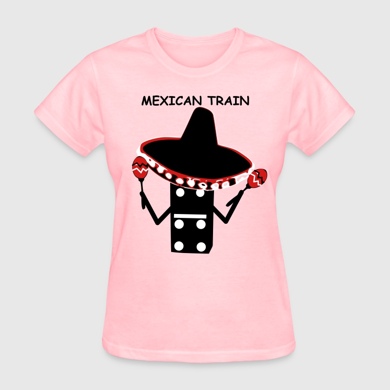 Mexican Train Sombrero - Women's T-Shirt