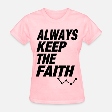 Jaejoong always keep the fiath - Women's T-Shirt
