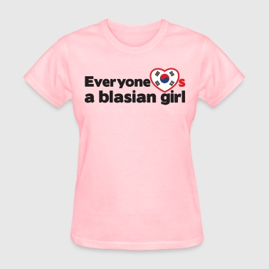Blasian Girl (Korea) - Women's T-Shirt
