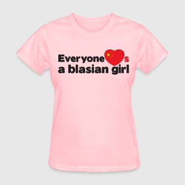 Blasian Girl (China) - Women's T-Shirt