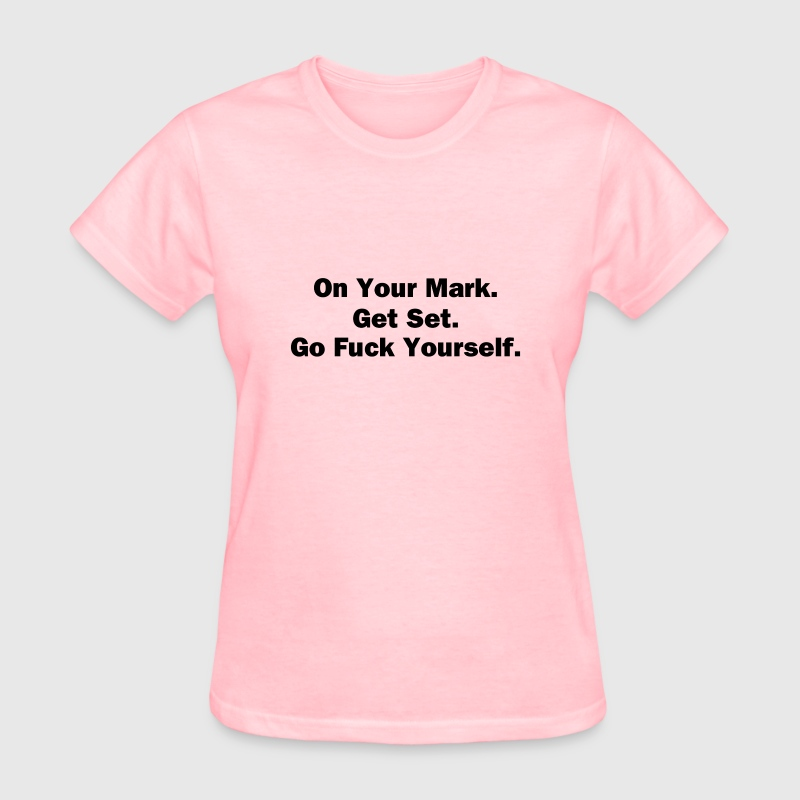 On Your Mark - Women's T-Shirt