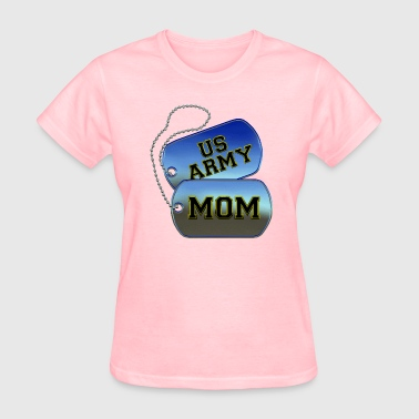 Army Mom Dog Tags - Women's T-Shirt