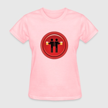 Red Buddy Drinking Buddies Red - Women's T-Shirt