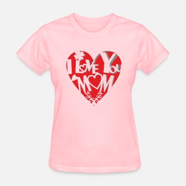 Motherly Love Sweet cut out heart - motherly love - Women's T-Shirt