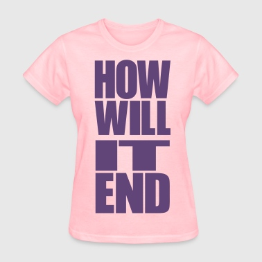 The Truman Show HOW WILL IT END [BOTTOM] - Women's T-Shirt