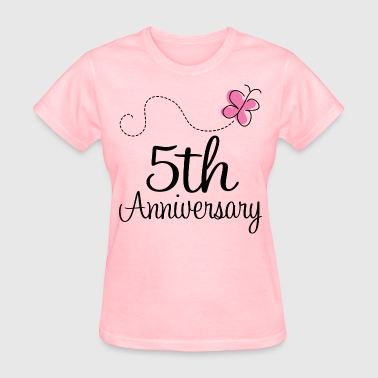 5th Wedding Anniversary Party - Women's T-Shirt