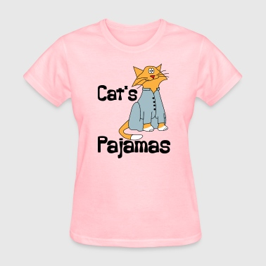 Pajama Party Cat's Pajamas - Women's T-Shirt