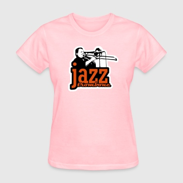 jazz trombone (3 color) - Women's T-Shirt