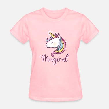 Unicorn Rainbow Unicorn, Horses, Cute, Unicorns - Women's T-Shirt
