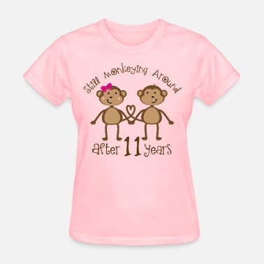11th 11th Anniversary Couples Gift - Women's T-Shirt