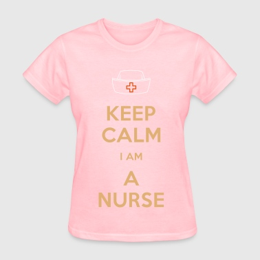 Graffiti Word Sexy Design keep calm nurse - Women's T-Shirt