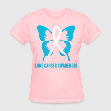 Lung Cancer Awareness - Women's T-Shirt