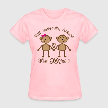 Funny 60th Wedding Anniversary Gift For Couples - Women's T-Shirt