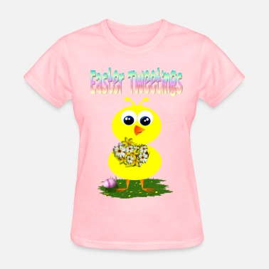 Easter Egg Easter Tweetings - Women's T-Shirt