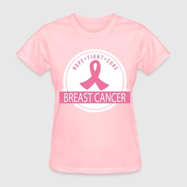 Breast Cancer Hope Fight Cure - Women's T-Shirt