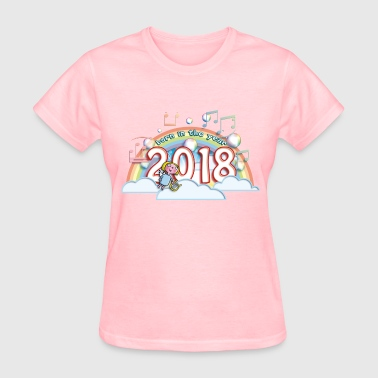 Born in the year 2018 ca - Women's T-Shirt